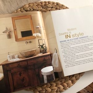 Vintage Accents - Modern Country Coffee Table Book
